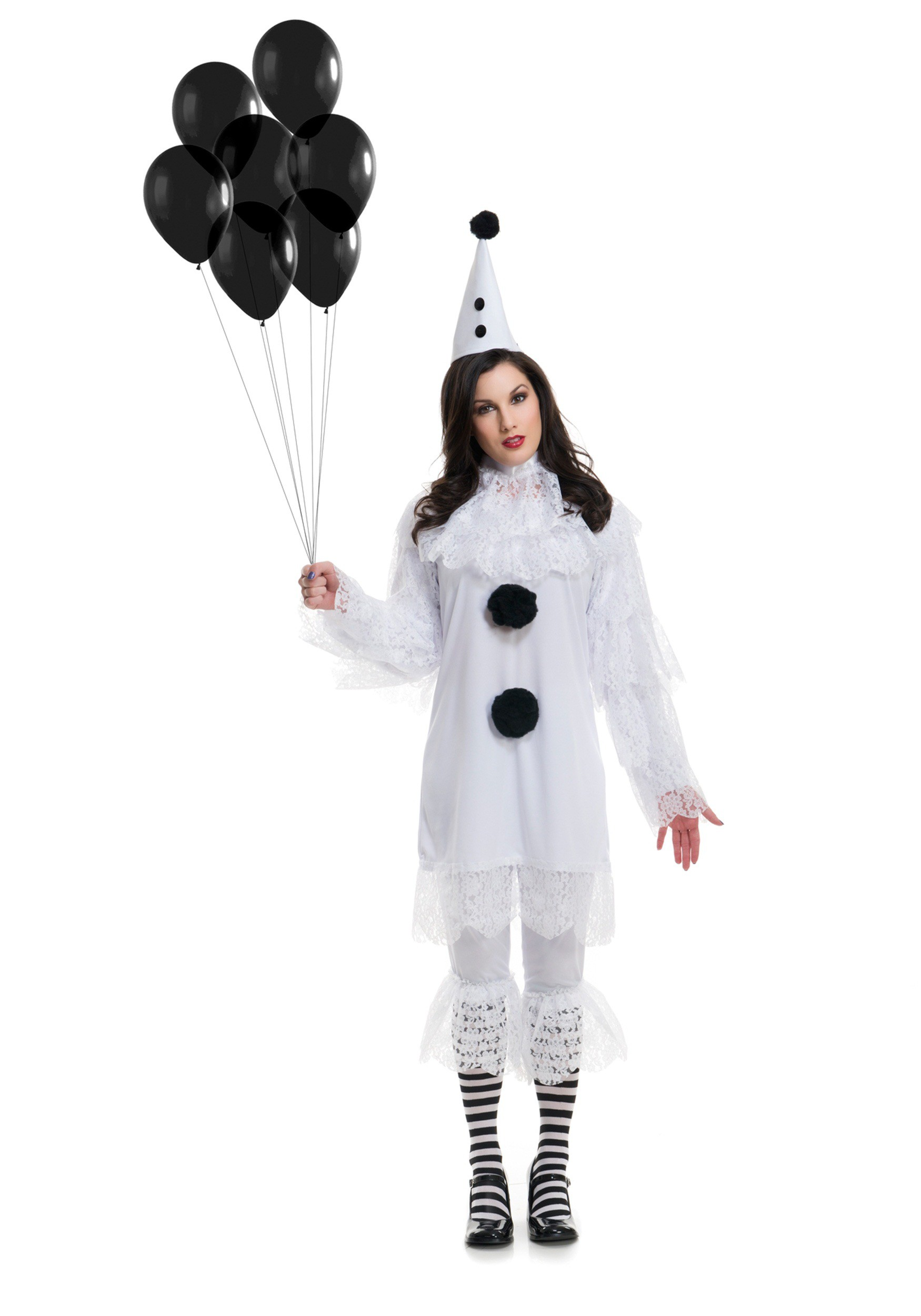 Heartbroken clown womens costume
