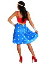 Deluxe Long Dress Wonder Woman Womens Costume-alt1