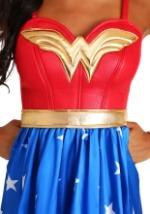Deluxe Long Dress Wonder Woman Womens Costume-alt2