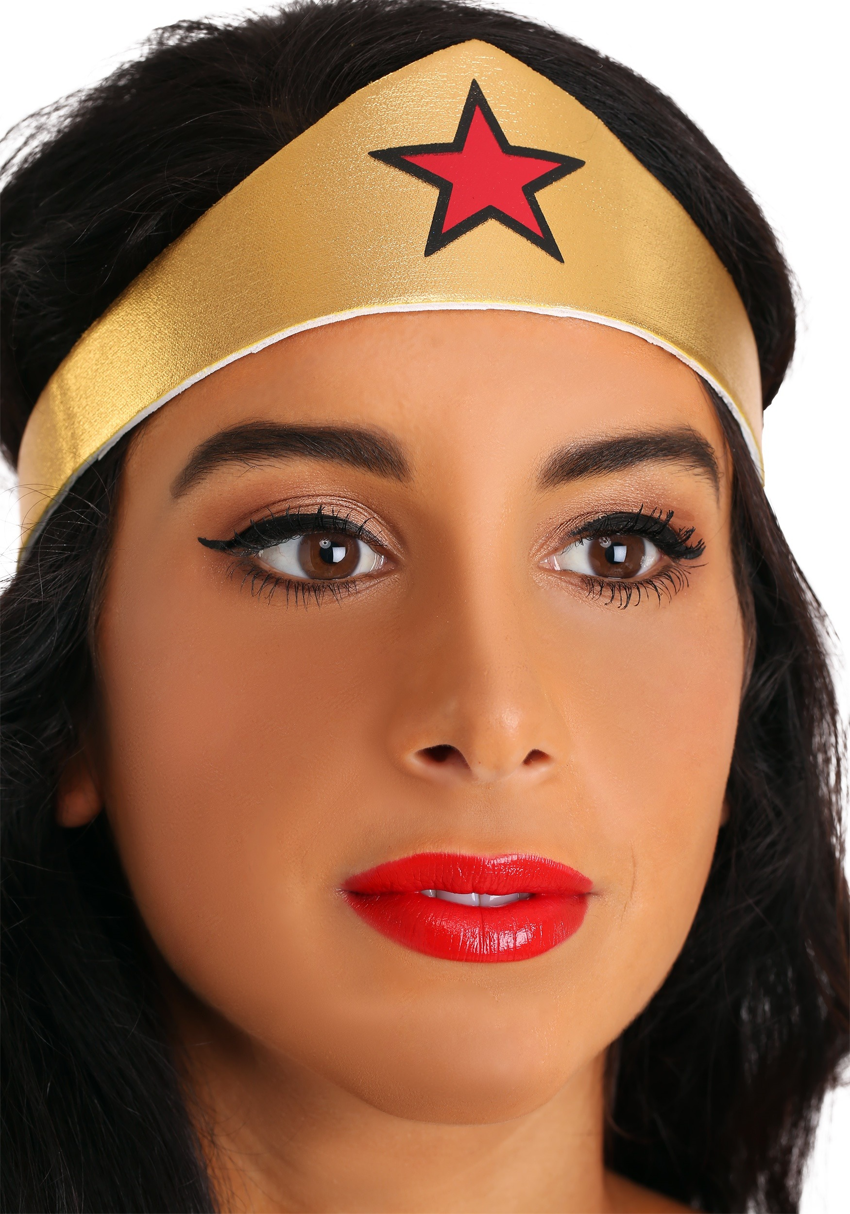 Deluxe Long Dress Wonder Woman Costume For Plus Size-3847