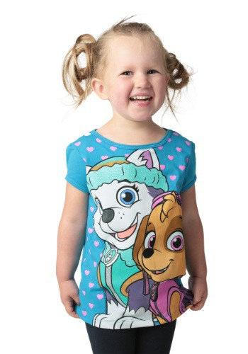 Paw Patrol Skye Paws Girls Toddler T-Shirt