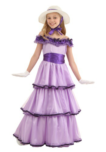 Deluxe Southern Belle Costume For Child