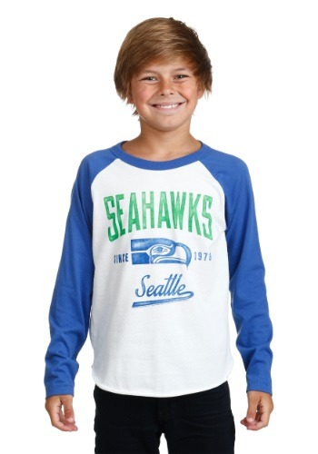 Kids Seattle Seahawks All American Raglan