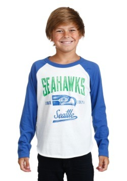 Kids Seattle Seahawks All American Raglan