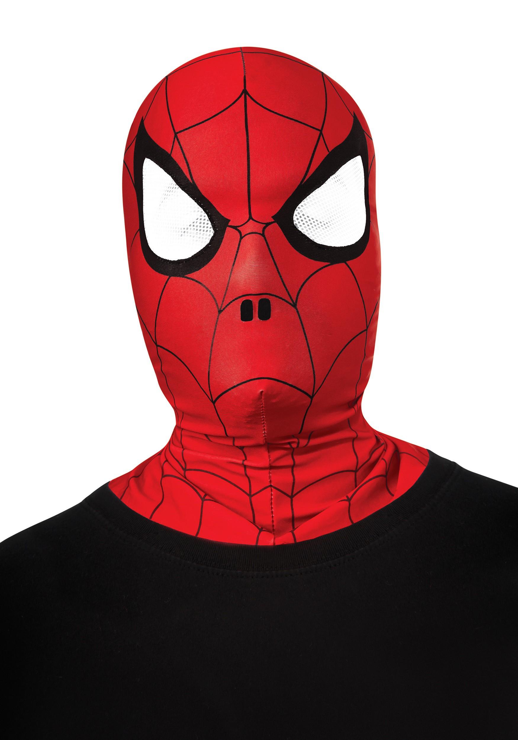 Child Full-Head Spider-Man Hood/Mask RU35635