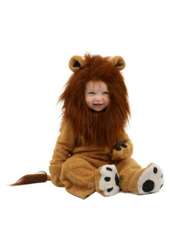 Deluxe Lion Baby Costume