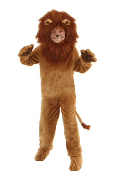 Deluxe Lion Kids Costume