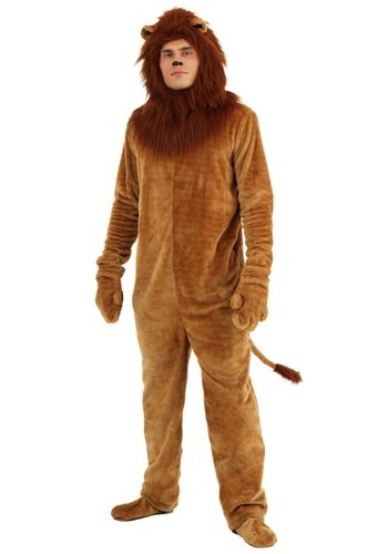 Deluxe Lion Adult Costume 1