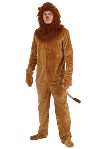 Deluxe Lion Plus Size Costume Mens 1