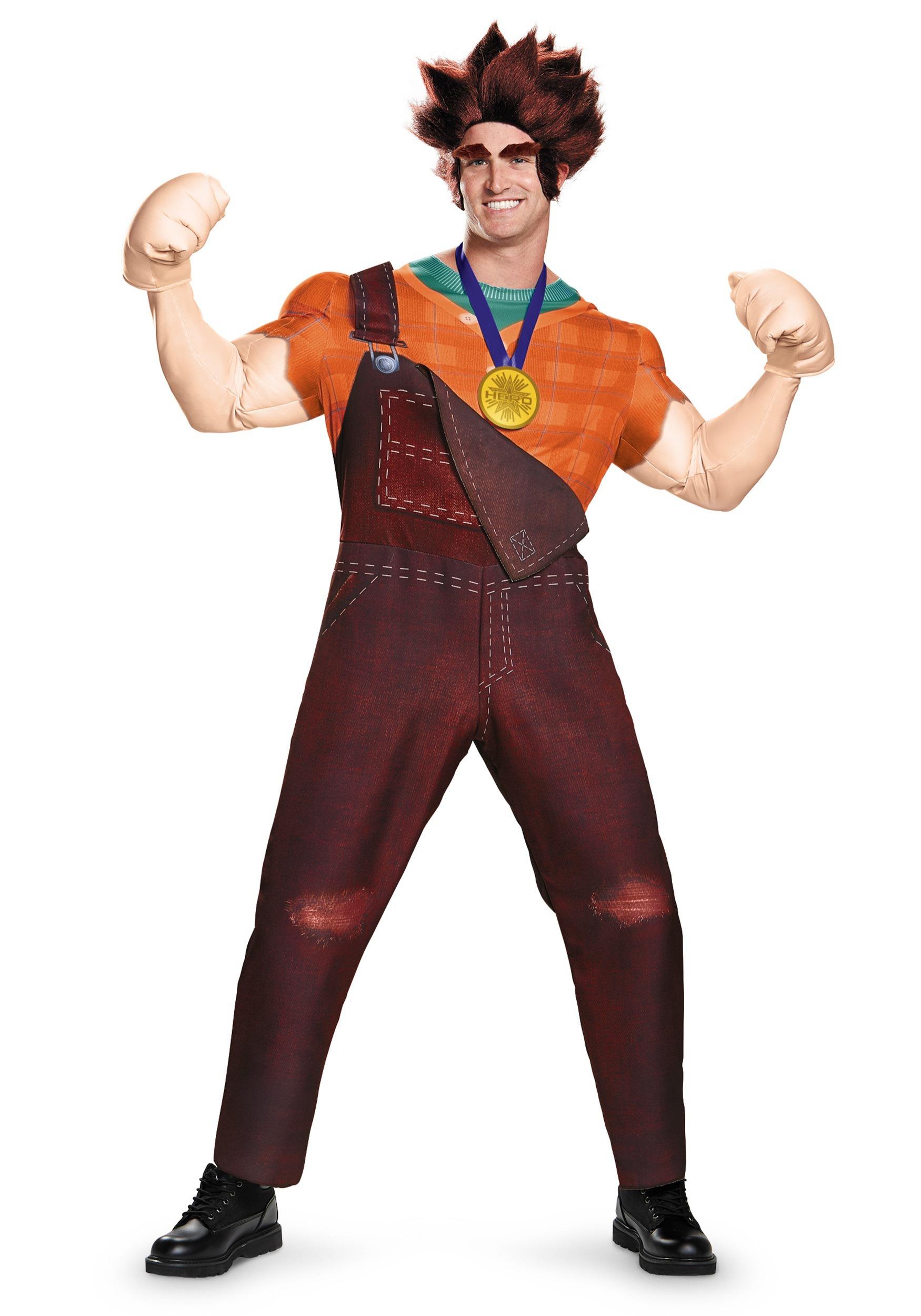 Deluxe Wreck It Ralph Men's Costume DI96172D