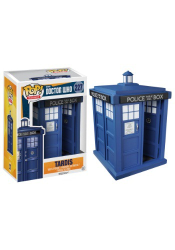 "POP! Doctor Who 6"" TARDIS Vinyl Figure FN5286"