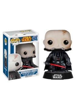 POP! Star Wars Unmasked Vader Bobblehead Figure