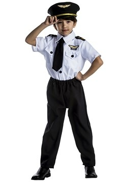 Pilot Costume For Kids