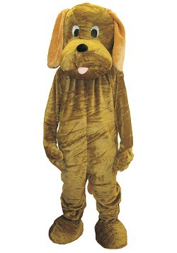 Mascot Puppy Dog Costume For Adults