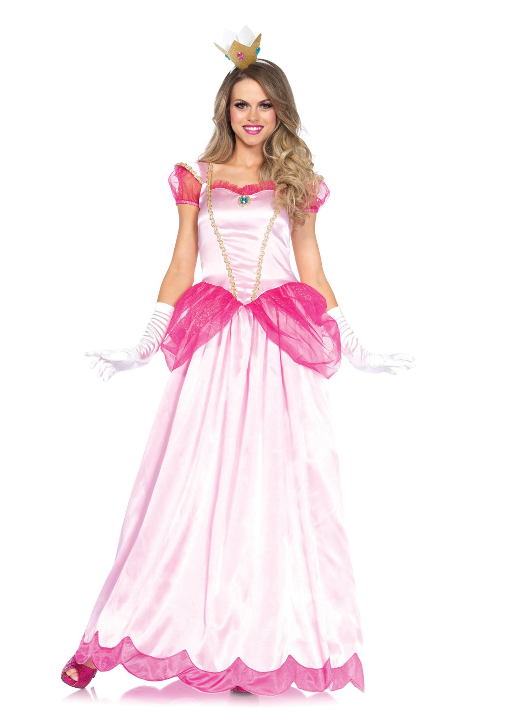 Women\'s Classic Pink Princess Costume