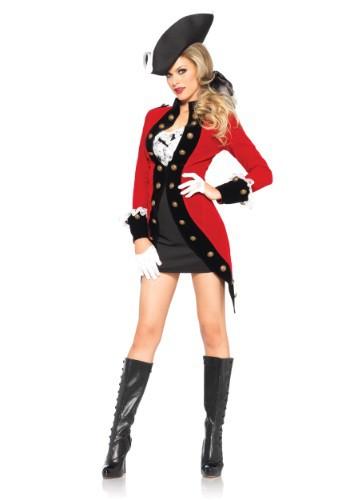 Rebel Red Coat Adult Costume