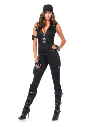 Women's Deluxe SWAT Commander Costume