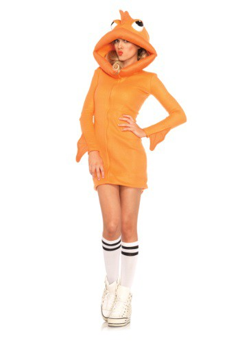 Adult Cozy Goldfish Costume