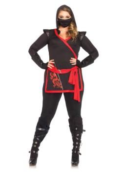 Plus Size Ninja Assassin Costume For Women
