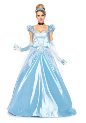 Classic Cinderella Full Length Gown Costume