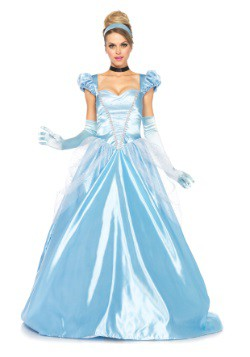 Classic Cinderella Full Length Gown Costume