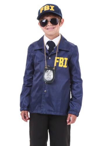 FBI Costume For Child