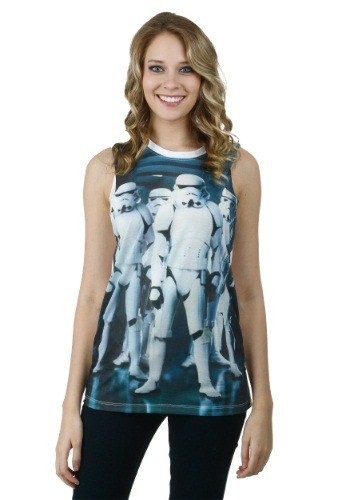 Star Wars Troop Group Sublimated Juniors Tank
