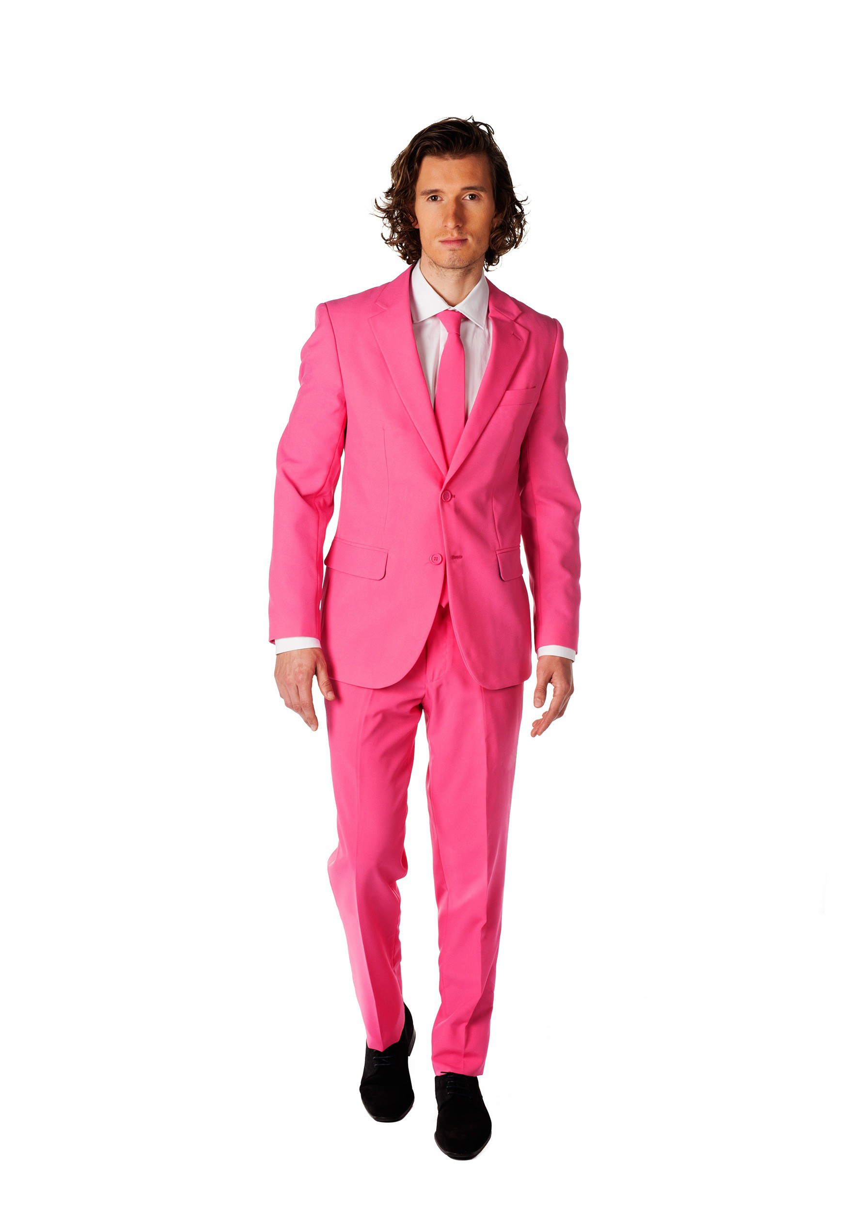 Mens Opposuits Pink Suit OSOSUI0015