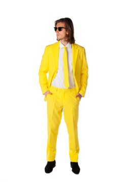 Mens Opposuits Yellow Suit