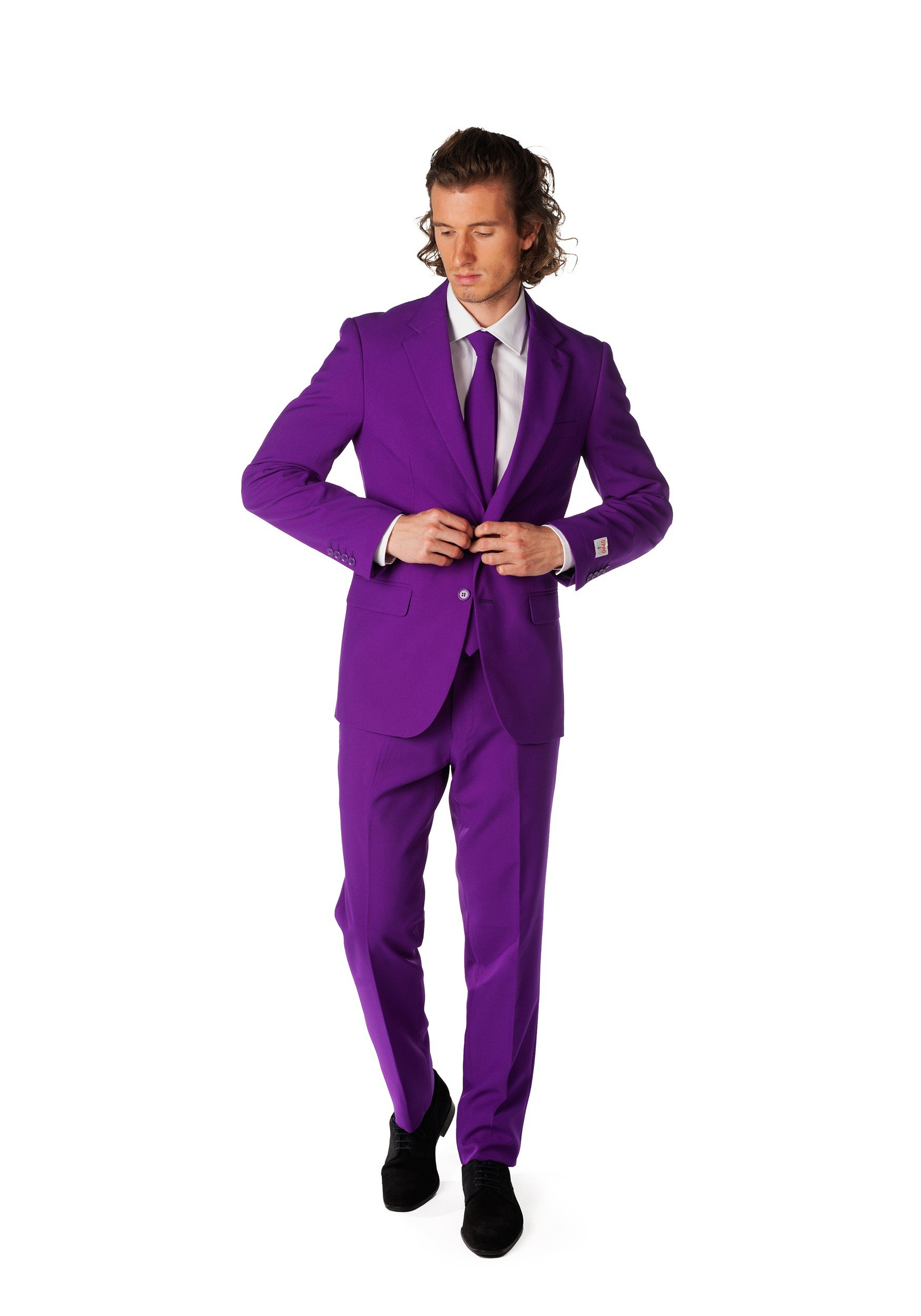 Fun Lamps Mens Opposuits Purple Suit