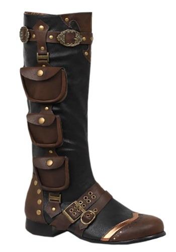 Men's Steampunk Costume Boots Update1
