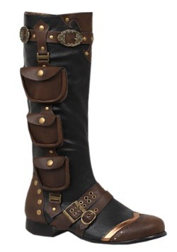 Men's Steampunk Costume Boots Update1