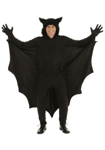 Fleece Bat Costume for Adults