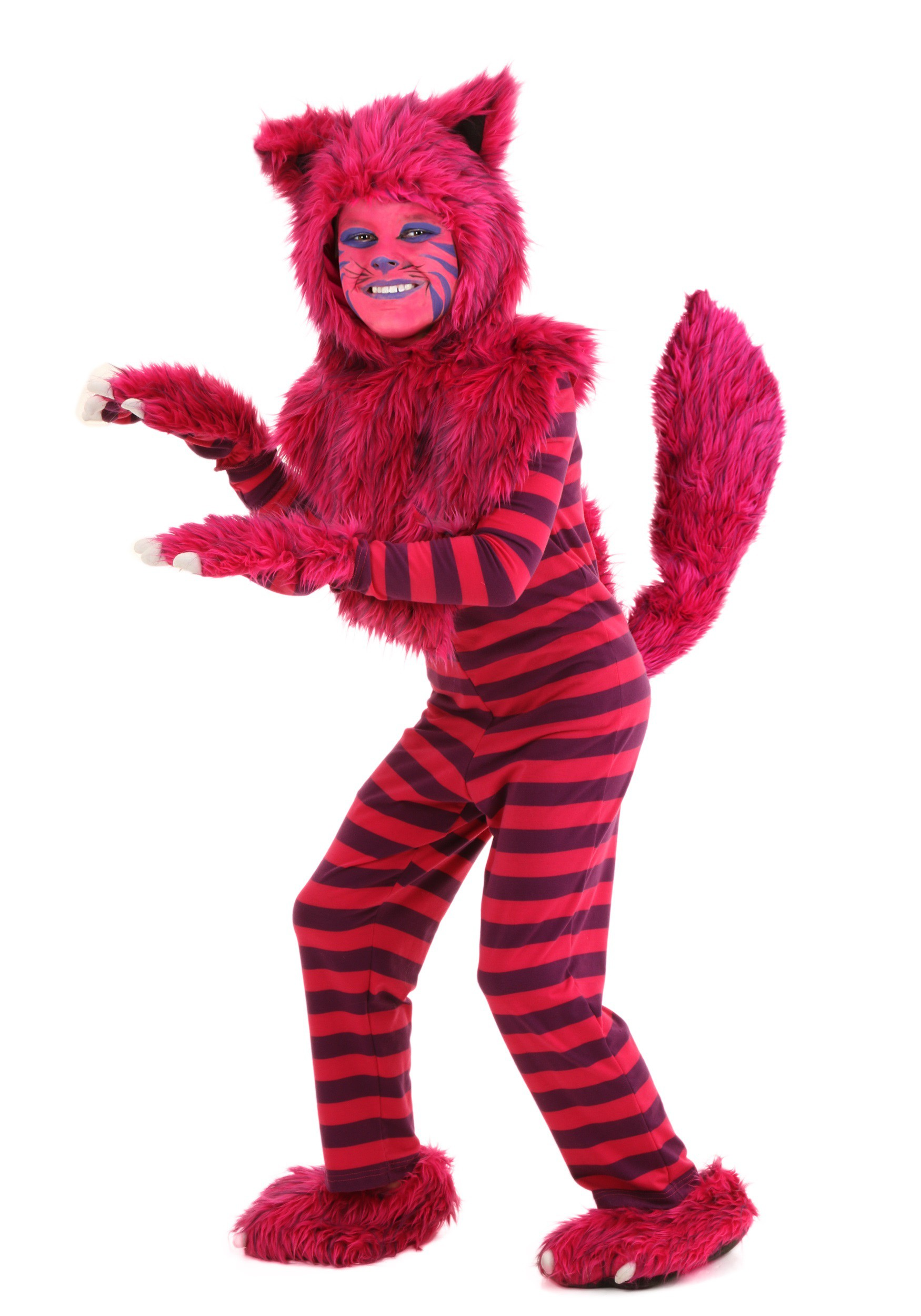 Deluxe Cheshire Cat Chidrens Costume  sc 1 st  Fun.com & Kids Deluxe Cheshire Cat Costume