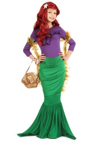 Girls Bubbly Mermaid Costume