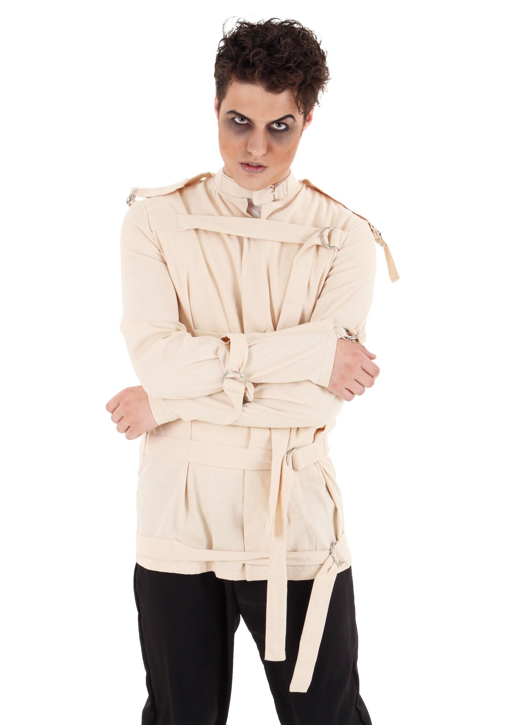 Asylum Straight Jacket Costume For Adults