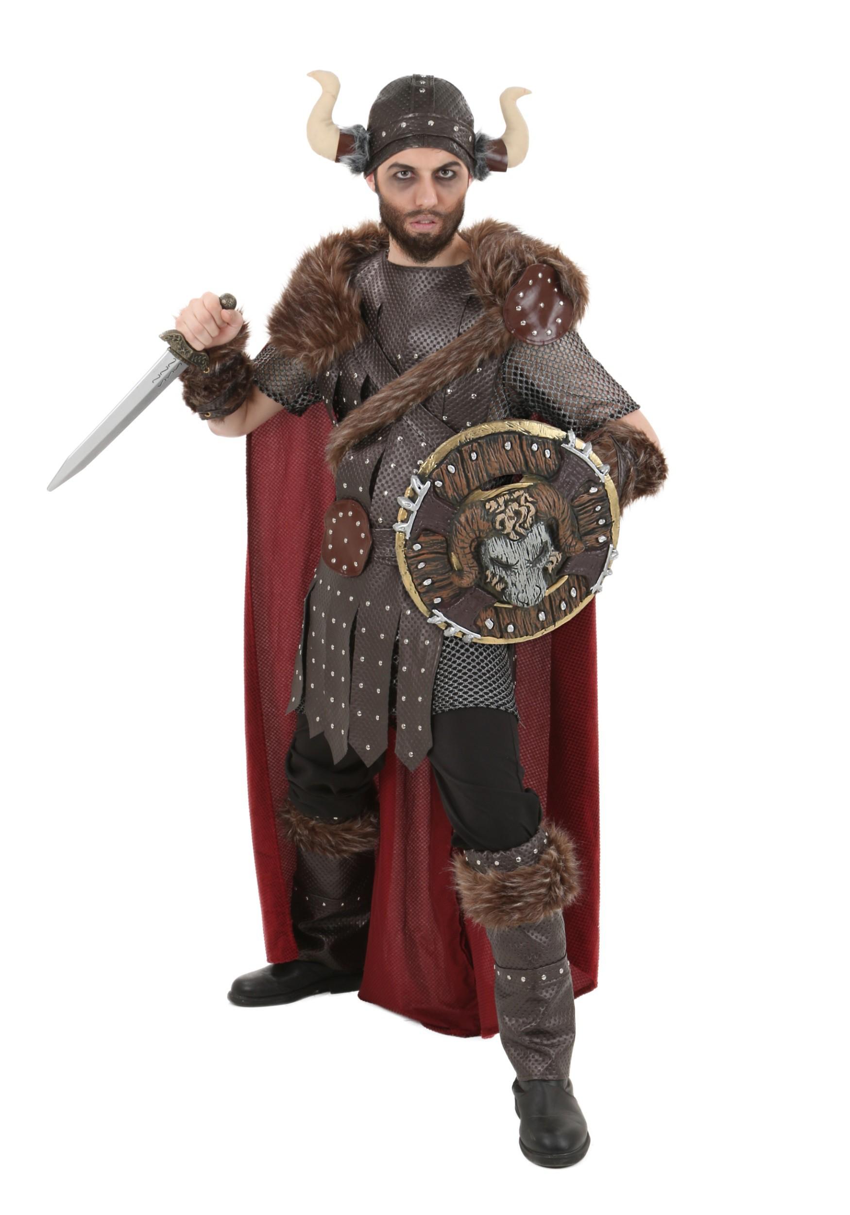 Viking Warrior Costume For Men