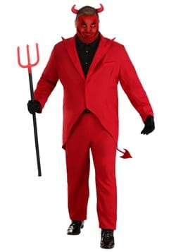 Plus Size Red Devil Suit Costume