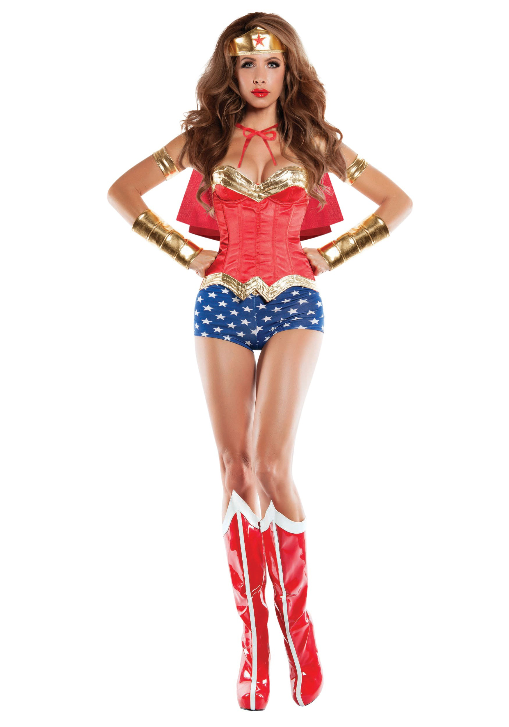Wonder Lady Corseted Costume-5424