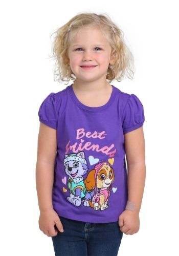 Best Friends Paw Patrol Toddler Girls T-Shirt