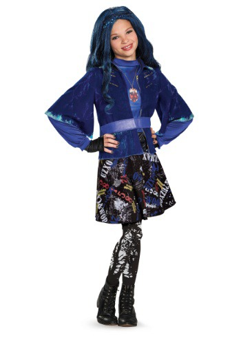 Deluxe Evie Descendants Girls Costume
