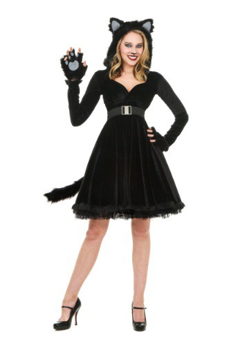 Black Cat Womens Costume
