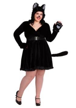 Womens Black Cat Plus Size Costume Update
