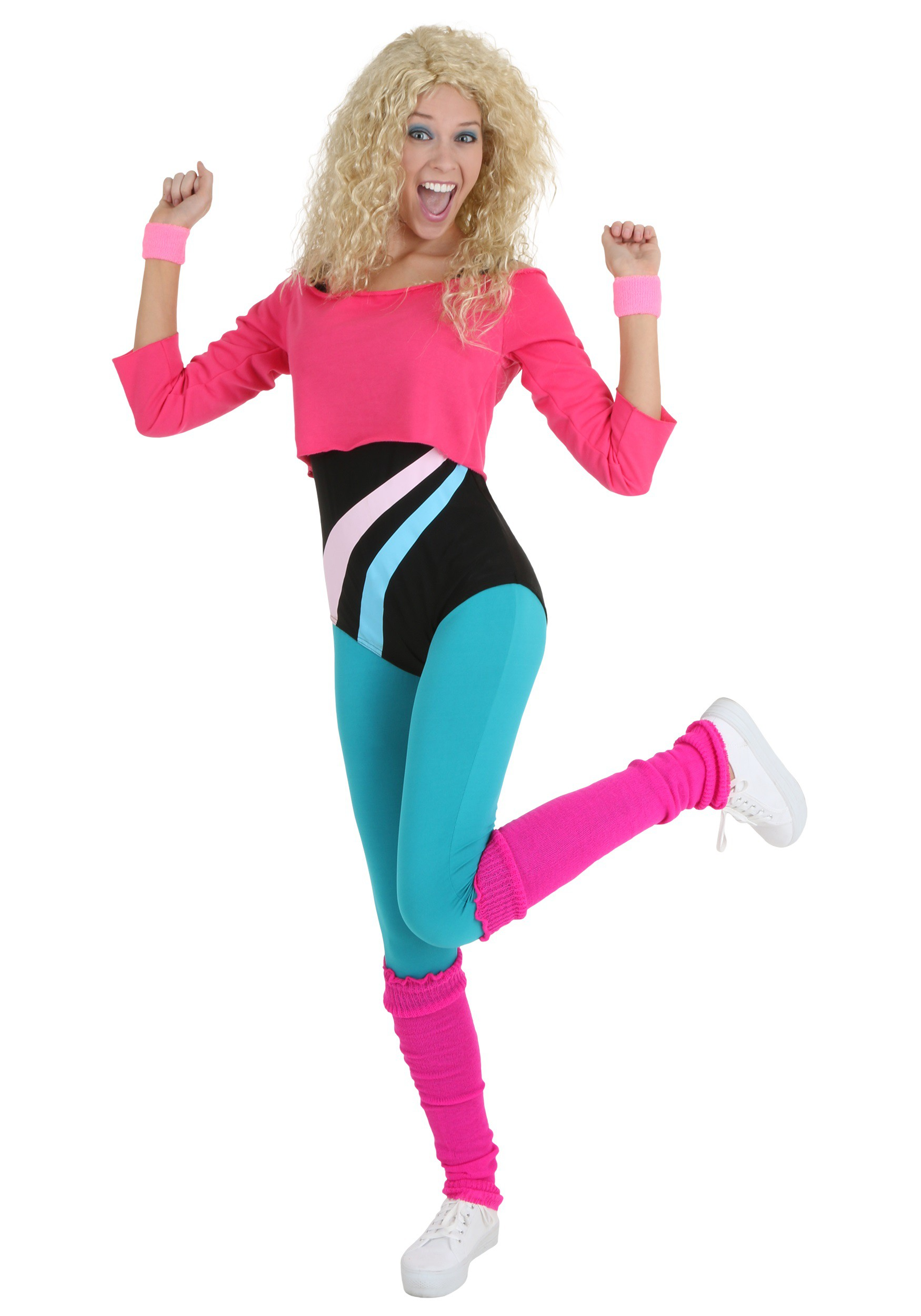 80s Workout Girl Costume For Women
