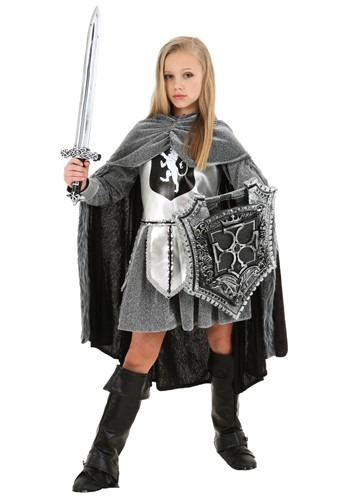 Warrior Knight Girls Costume