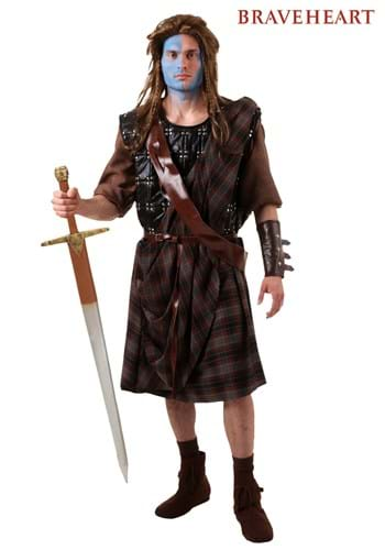 Adult Braveheart William Wallace Costume Update 2