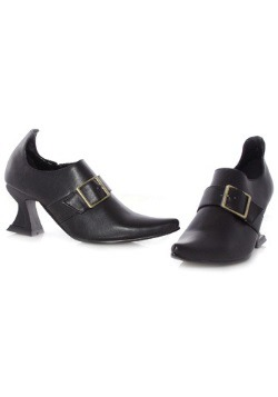 Girls Black Witch Shoes