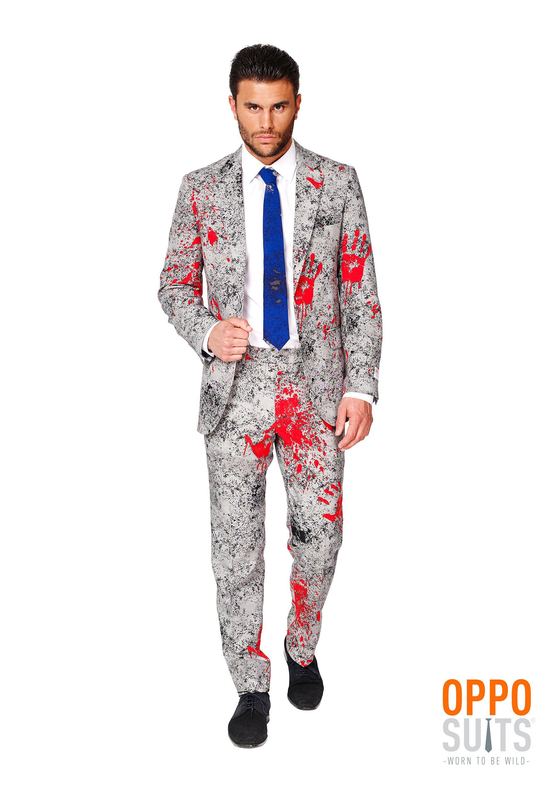 OppoSuits Zombiac Suit for Men