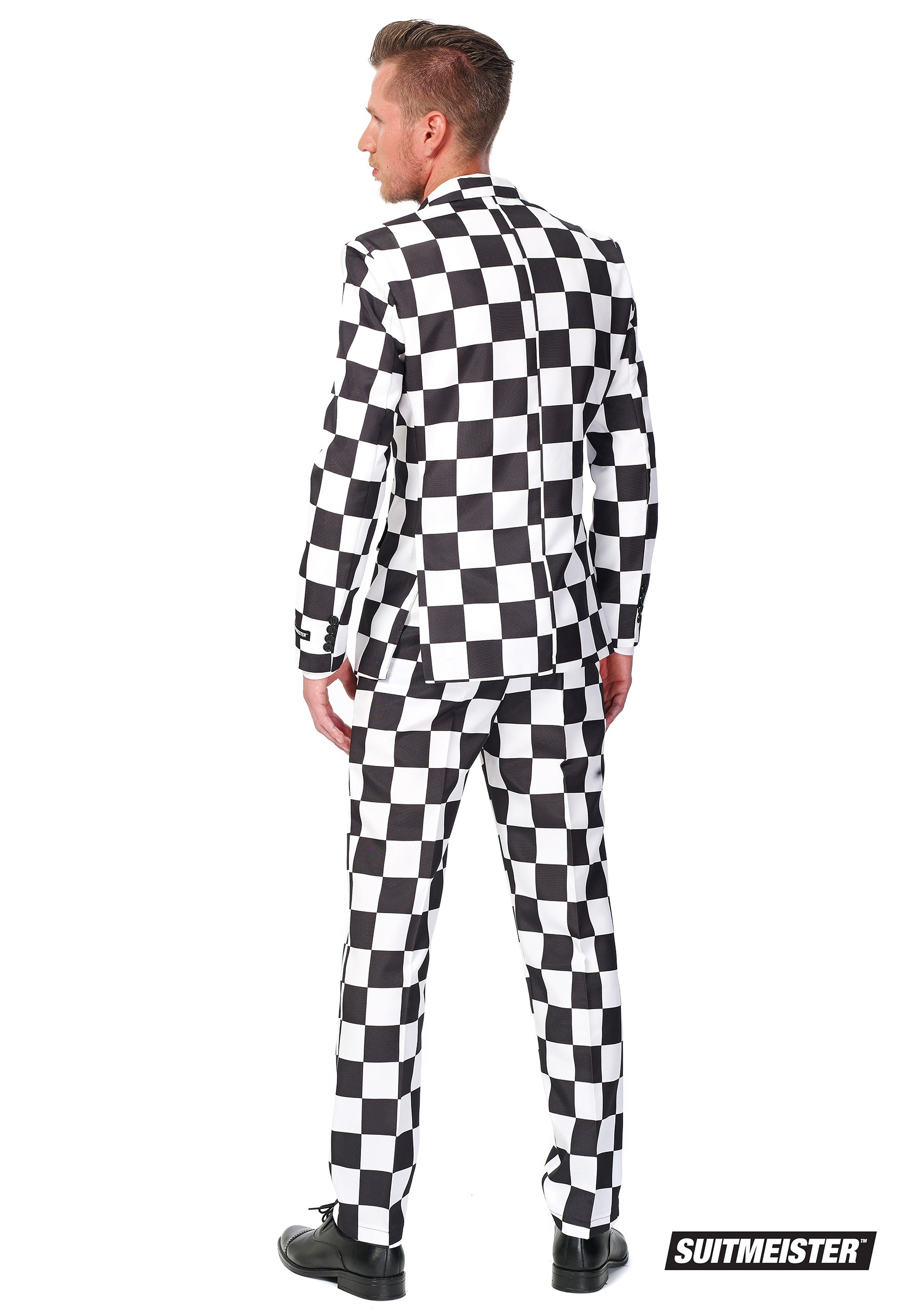 Red And Black Checkered Shirt Men