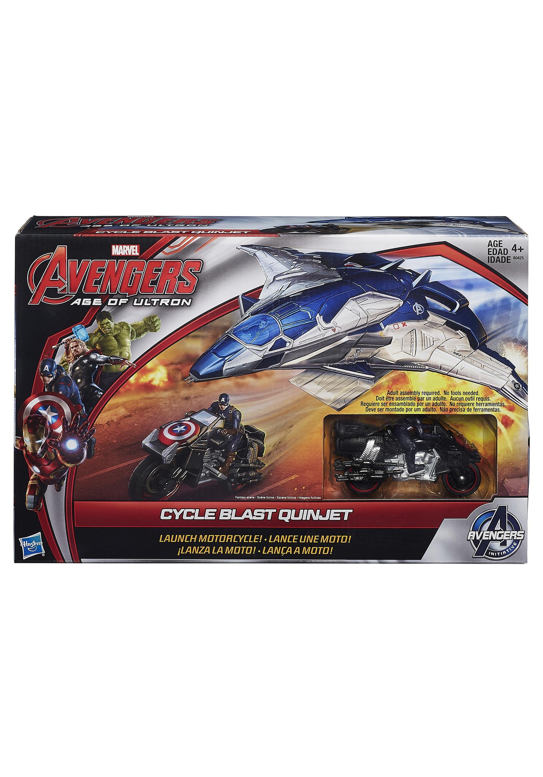 Avengers: Age of Ultron Cycle Blast Quinjet Set EEDHSB0425